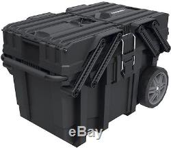 Rolling Tool Box Organizer Portable Workshop Cart Storage Bin Husky 25 in