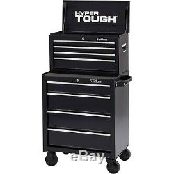 Rolling Tool Cabinet Box Steel Chest 4-Drawer Toolbox Mechanics Storage Drawer