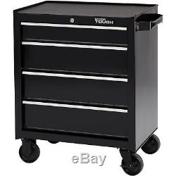 Rolling Tool Cabinet Drawer Workshop Metal Chest Trunk Box Under the Bench Cart