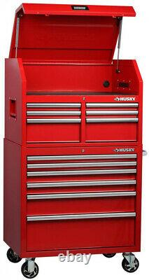 Rolling Tool Chest Cabinet Red Storage 6 Drawer X-Large Bottom Ball Bearing