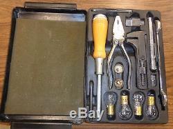 Rolls-Royce Silver Shadow T1 Corniche Complete Tool Kit Box