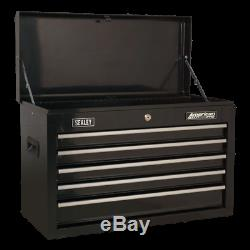 SALE! Sealey AP22BSTACK 14 Drawer Tool Box Stack Roll Cab, Top & Mid Chests