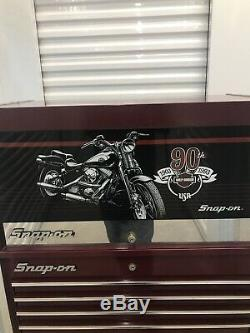 SNAP-ON HARLEY DAVIDSON 90TH ANNIVERSARY ROLLING TOOL BOX Best Offer