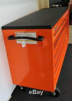 SNAP-ON KRA2432PKH7M 73 12-Drawer Double Bank Roll Cab, Tool Box, Workstation