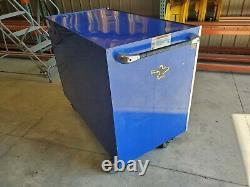 SNAP-ON Royal Blue Roll Cab Toolbox Chest (Model KRL1001 BRCM) Masters Series