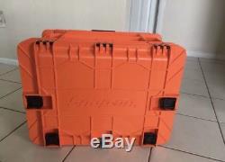SNAP ON TOOL CHEST BOX Road Box KMC18043POR Tools Orange 8 Drawers Rolling NEW