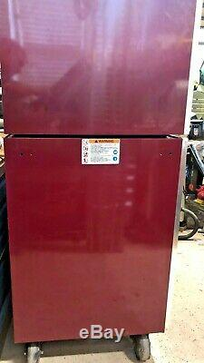 SNAP ON Tool Box Master Series 23-Drawer Roll Cab & Top Box Cranberry USA