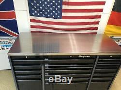 SNAP-On Triple Bank Roll Tool Box, KRL Series Black