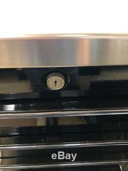 SNAP-On Triple Bank Roll Tool Box, Stainless Steel Top KRL1003 Series Black