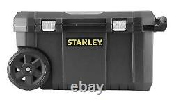 STANLEY Heavy Duty Rolling Tool Chest Box Storage On Wheels With Handle Black