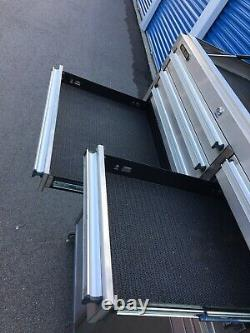 STEEL GLIDE Rolling Tool Chests With Key! Nice, 41.5x18x61