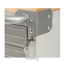 Seville Classics UltraHD 6-Drawer Rolling Cabinet Heavy Duty Steel Tool Box