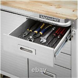 Seville Classics UltraHD 6-Drawer Rolling Cabinet Heavy Duty With Key Lock
