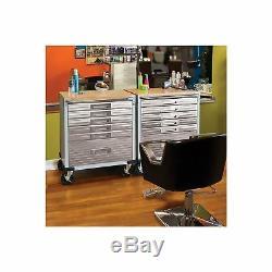 Seville Classics UltraHD Rolling 6-Drawer Tool Storage Cabinet Key Lock No Tax