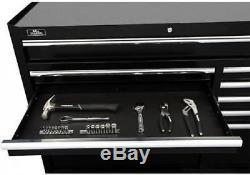 Shop Rolling Tool Chest Box Cabinet Set 52 18 drawer Garage Storage Organizer