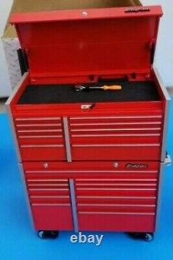 Snap On 1/8 Scale Rolling Cabinet withTop Chest Tool Box KRL 1201/1001 NEW