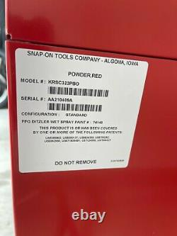 Snap-On 32 Three-Drawer Roll Cart (Red) Toolbox