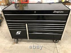 Snap On 54 11 Drawer Double Bank Masters Series Roll Cab Toolbox