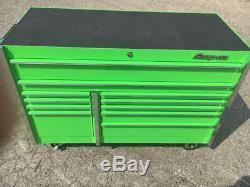 Snap On 54 11 Drawer Roll Cab Tool Box KRL722BPJJ