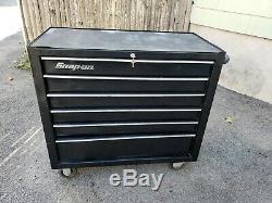 Snap On 7 Drawer Roll Cab Tool Storage Tool Box Black KRA2106FPC #