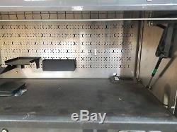 Snap-On EPIQ 76 KERP763B8 Toolbox with Top Hutch EPIC Gunmetal Roll Cabinet Chest