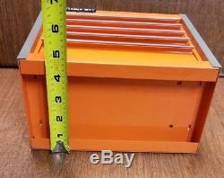 Snap On Electric Orange Mini Bottom Roll Cab Tool Box