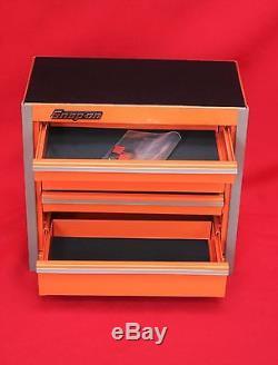 Snap On Electric Orange Mini Bottom Roll Cab Tool Box Brand New