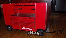 Snap On Extremely Rare Rolling Tool Box Mini KRLP7022 Tool Box NASCAR Toolbox
