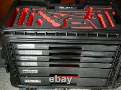 Snap On GMTK 6 Drawer Rolling Tool Box Foam Trays 1/2 Sockets SAE Metric Wrench