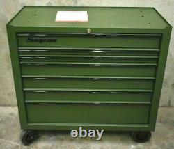 Snap-On KRA4107FPZR 40 7 Drawer Single Bank Heritage Series Roll Cab Tool Box