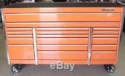 Snap On KRL1033 Roll Cab 19 Drawers Extended Cab System Tool Box Must See