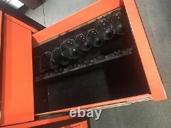 Snap-On KRL1163PKH 3 Bank Roll Cab Rolling Tool Box 16-Drawers With Upgrades