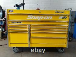 Snap On Master Series Roll Cab 54 11 Drawer Tool Box