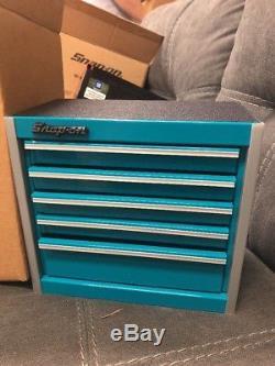 Snap-On Micro Roll Cab Mini Tool Box Teal KMC922PE