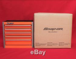 Snap On Orange Mini Bottom Roll Cab Tool Box -New