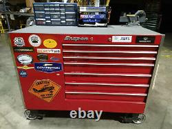 Snap-On Rolling Tool Cabinet Box LOADED WITH TOOLS Aircraft Mechanic A&P