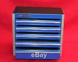 Snap On Royal Blue Mini Bottom Roll Cab Tool Box Brand New