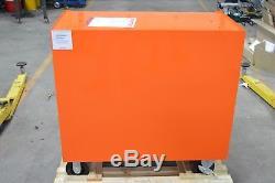 Snap-On Tool Box 40 7 Drawer Single Bank Heritage Series Roll Cab Orange