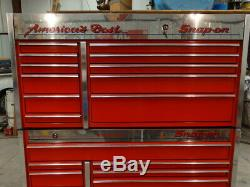Snap On Tool Box Rolling Cabinet And Top Chest American Eagle Edition