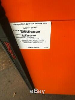 Snap On Tool Box Tool Cart Roll Cart KRSC326 in Electric Orange