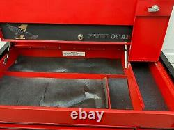 Snap-On Toolbox KR 637 / KR 657 Combo Tool Chest Snap On Tool Box Roll Cabinet