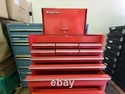 Snap-On Top Tool Box and Bottom Rolling Chest