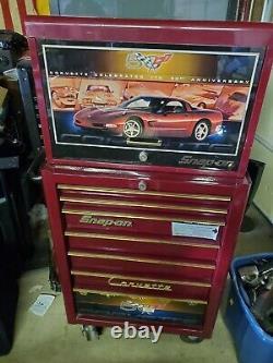Snap-on Corvette 50th Anniversary Tool Box Kra4007 Kra4055