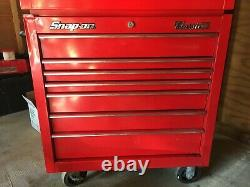 Snap on KRA2407 Tool Box Classic 60 Red, Roll Cab and Top