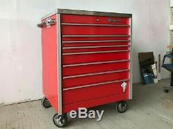 Snap-on KRL 1056 Roll Away Tool Box Snapon Roll Cab Cabinet with Stainless Steel