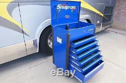 Snapon 32 Six-Drawer Compact Roll Cart (Royal Blue) Tool Box KRSC326FPCM
