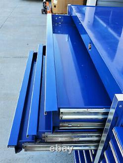 Snapon Snap-on KRL1003 Royal Blue Rolling Tool Box Cabinet Heavy Duty 23 Drawers