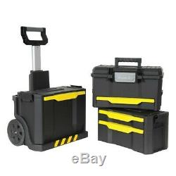 Stanley Detachable Modular Rolling Workshop Toolbox Chest 1-79-206 STA179206