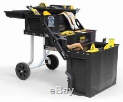 Stanley Fatmax Portable Toolbox Rolling Cabinet Storage Tool Chest Mechanic NIB