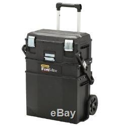 Stanley Rolling Tool Box Storage Cabinet Chest Portable Garage Organizer